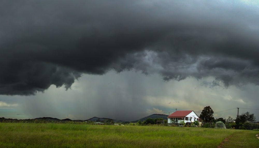 Severe thunderstorm in Australia