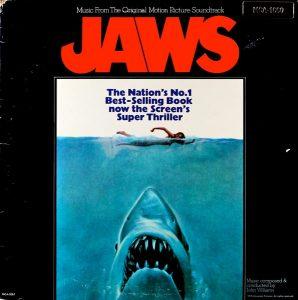 1975 movie Jaws soundtrack on vinyl