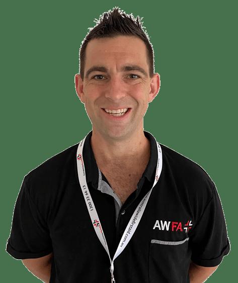 First Aid trainer Jason