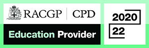 Royal Australian College of General Practitioners Education Provider logo