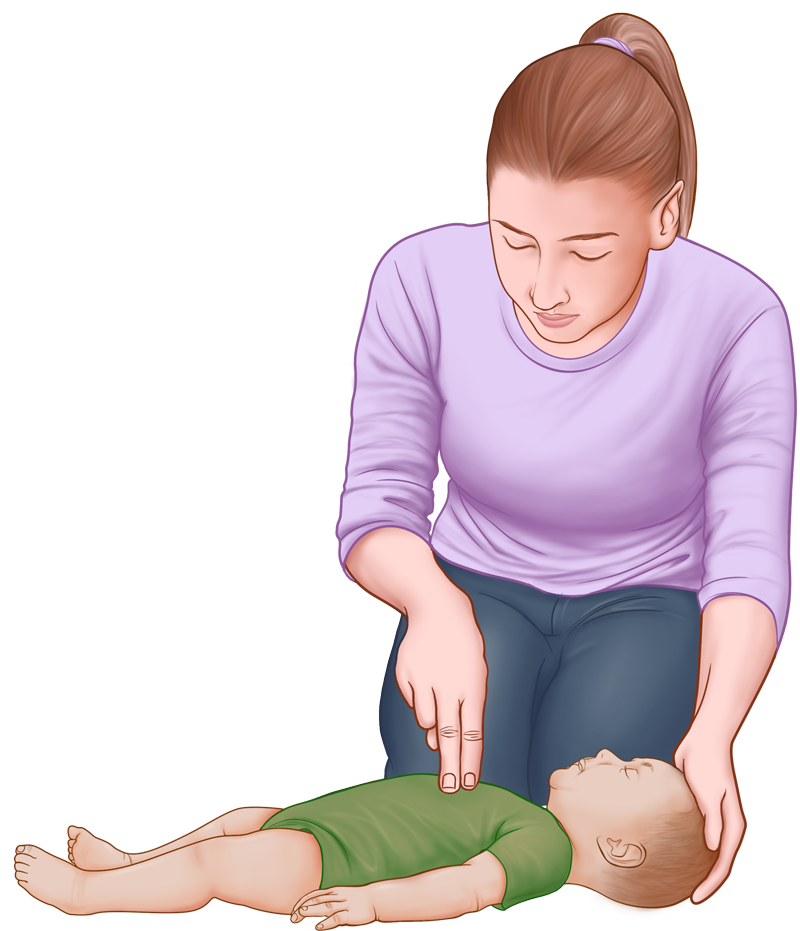 Baby & Infant CPR Guide - opening airways